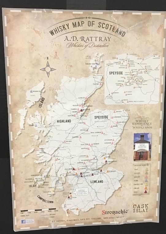 Scotland scotch regions